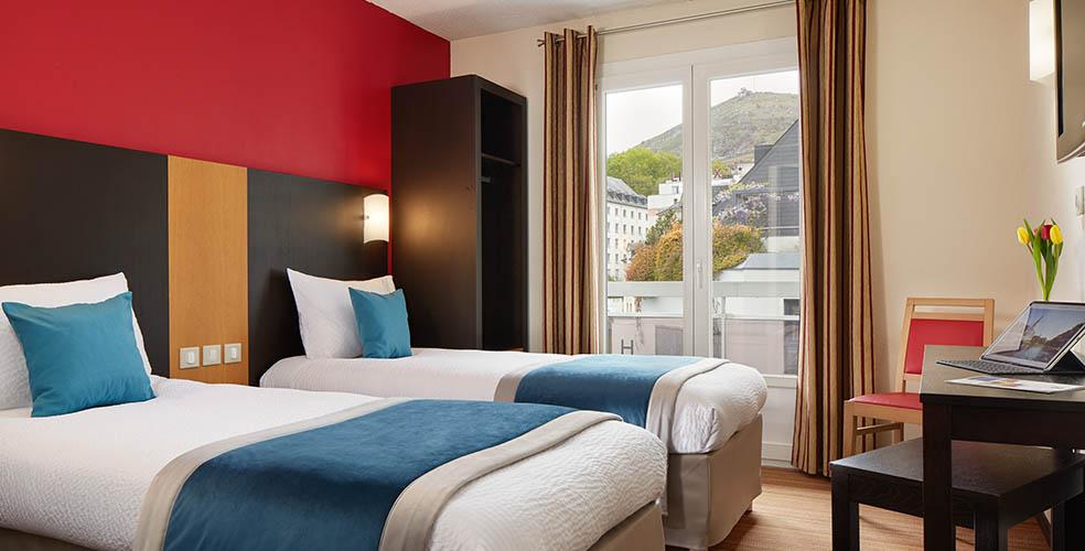 Hotel roissy Lourdes francia habitacion doble