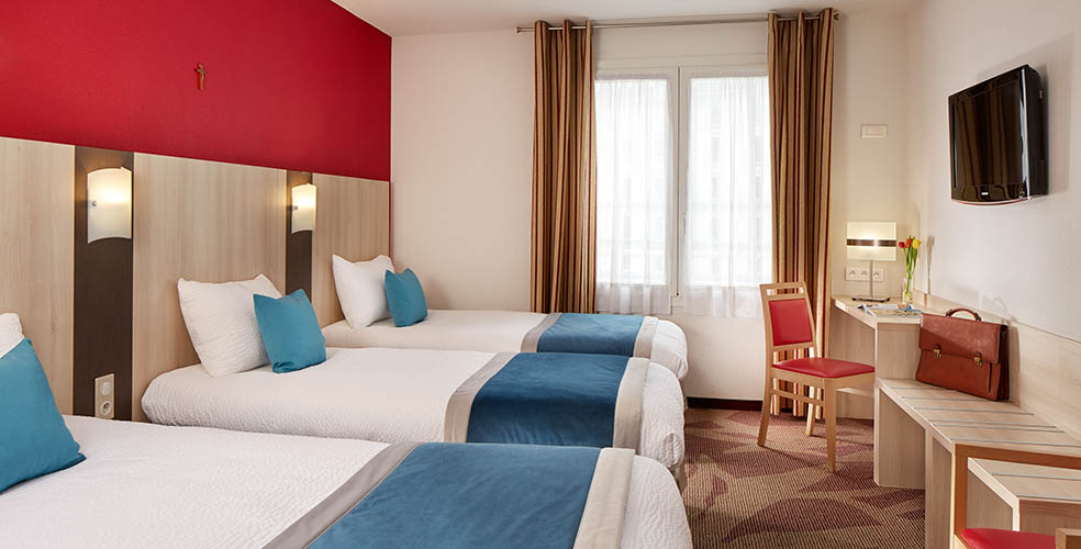 Hotel Lourdes 2 persoons kamers