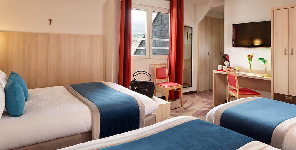 Hotel Lourdes Familienzimmer, bis 5 personen, Internetzugang