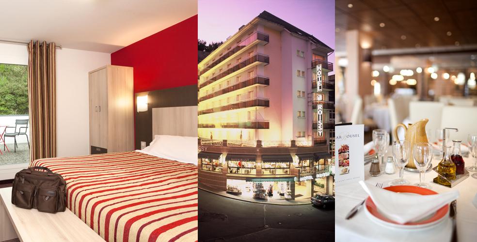 Gut gemocht HOTEL ROISSY 3 etoiles - Lourdes | Hôtel près de la Grotte BH37
