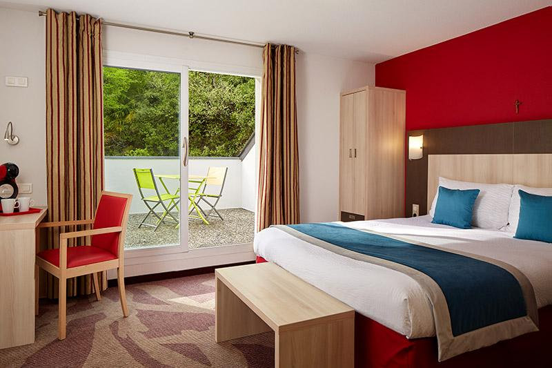 Hotel Roissy Lourdes chambre double deluxe