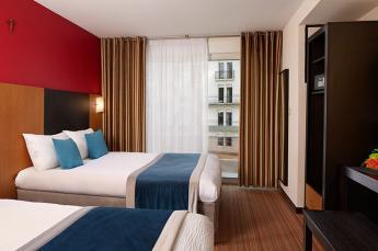 Chambres à 2 lits Hotel Roissy Lourdes