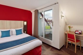 Hotel Roissy Lourdes Duplex kamer balkon