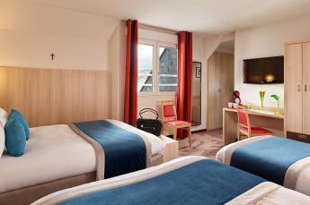 Hotel Roissy Lourdes Camera per famiglia vicino grotta