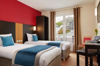 Hotel lourdes twin met 2 eenpersoonsbedden
