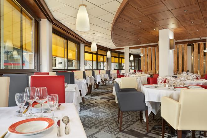 Das Essen im Hotel Roissy Lourdes