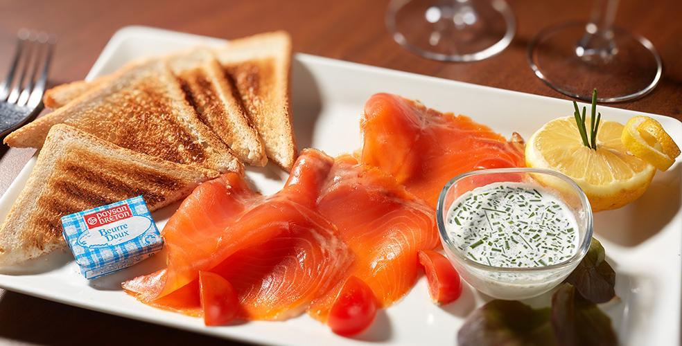 Ontbijtbuffet hotel Lourdes 4 sterren