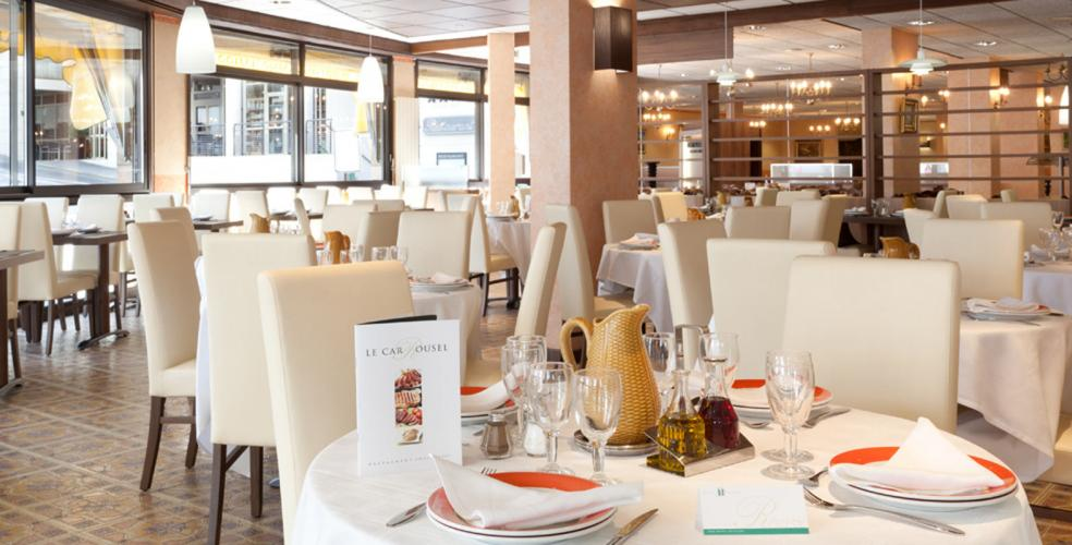 Hotel Roissy Lourdes ristorante vicino al santuario